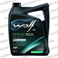 WOLF Officialtech 5W-30 C3 4л