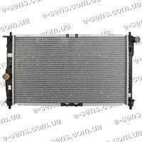 Радиатор охлаждения Ланос 1.5/1.6 с кондиц. DELPHI