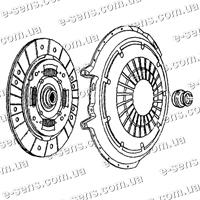 Комплект сцепления Ланос 1.6 VALEO PHC