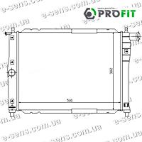Радиатор охлаждения Ланос 1.5/1.6 PROFIT